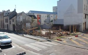 Rue Maurice David, le chantier continue